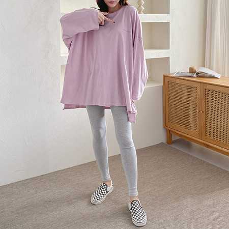 We Cotton Boxy Long Tee