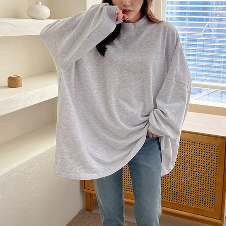 New York Boxy Long Tee